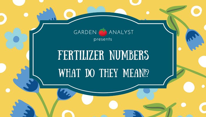 fertilizer numbers definition and meaning