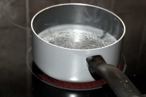 pot of water boiling
